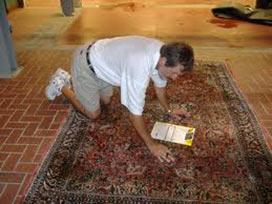 Limpeza de tapete persa