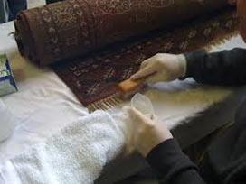 Lavagem de tapete oriental